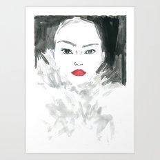 Beauty #1 Art Print