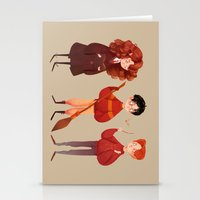 Stationery Cards featuring Friendship and Bravery by Nan Lawson