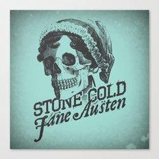 Stone Cold Jane Austin Canvas Print