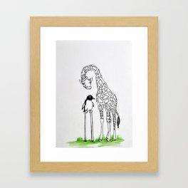Opposites Framed Art Print
