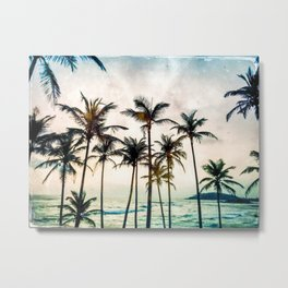 No Palm Trees Metal Print