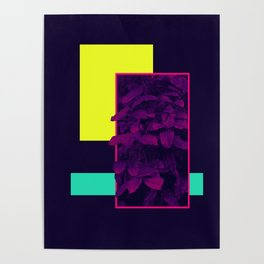 Neon Bush #society6 #retro Poster