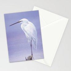 Purple Crane Stationery Cards