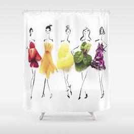 Edible Ensembles: Rainbow Shower Curtain