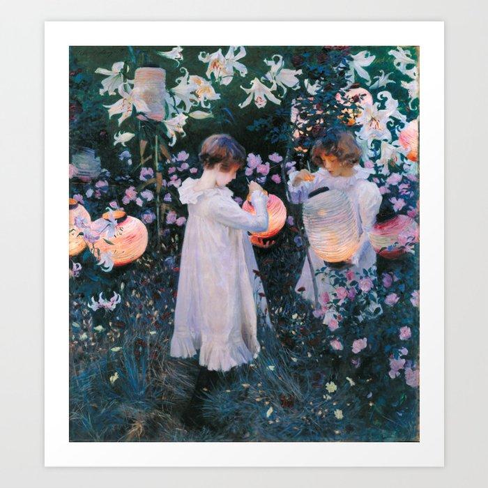 John Singer Sargent Carnation Lily Lily Rose Kunstdrucke