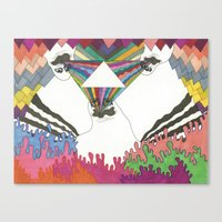 channel Canvas Prints featuring Channel by Habitual◆Depictions