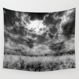 Heavenly Monochrome Wall Tapestry