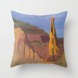 Independence Monument 082013 Throw Pillow