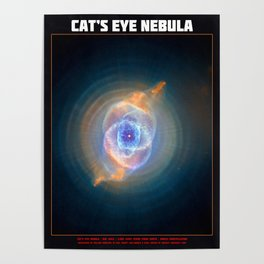 Cat's Eye Nebula Poster