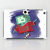 bmo iPad Cases featuring BMO Soccer by AbigailC