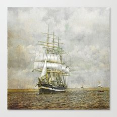 The Kruzenshtern Canvas Print