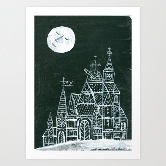 Crystal City 12-11-10a Art Print