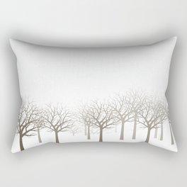 Winter Forest by Friztin Rectangular Pillow