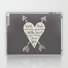 Kind Gentle Brave 2 Laptop & iPad Skin