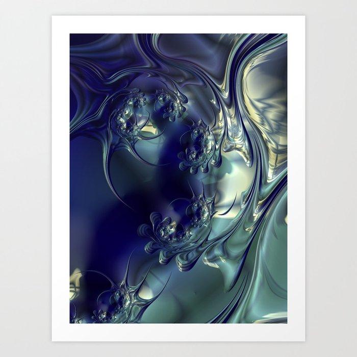 Night Dive #2 Art Print