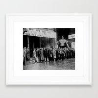 waldo Framed Art Prints featuring WALDO by blip