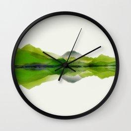 Reflection II Wall Clock