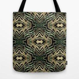 WAVY PALM Tote Bag