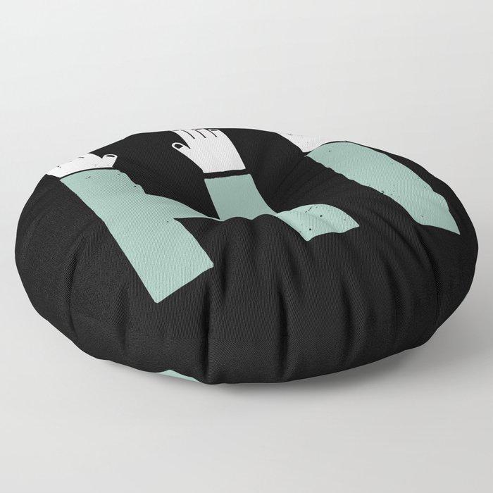 Hi! Floor Pillow
