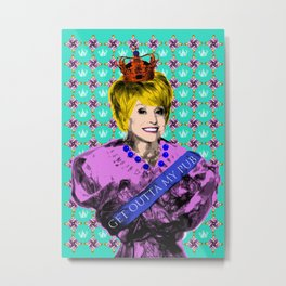 Soap Queens - Peggy Eastenders Metal Print