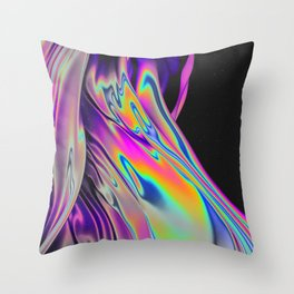 NUIT BLANCHE Throw Pillow