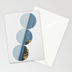 ROUND OCEAN Stationery Cards