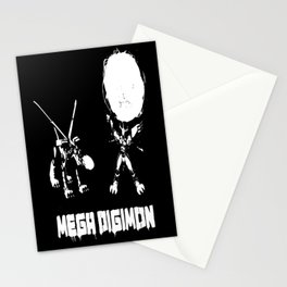 mega digimon Stationery Cards
