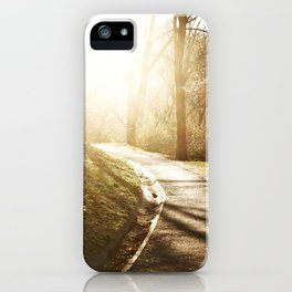 Road to heaven... iPhone Case