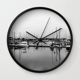 Boats Reflex Wall Clock