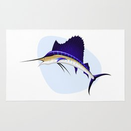 Sailfish Rug