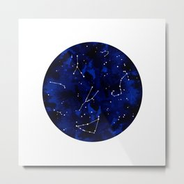 Constellation Sky Metal Print