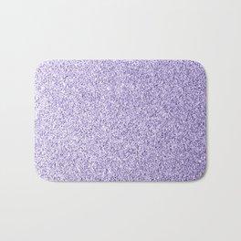 Ultra violet light purple glitter sparkles Bath Mat