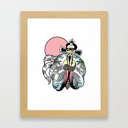 Big Trou-ble in Little China Framed Art Print