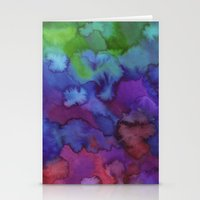 watercolour Stationery Cards featuring Watercolour by Amber Nuttall