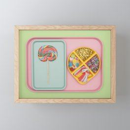 Party Tray Framed Mini Art Print