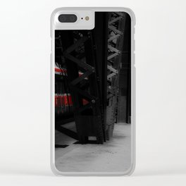 Red Rocket 2 Clear iPhone Case