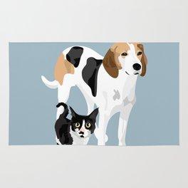 Kitten and Lulu Rug