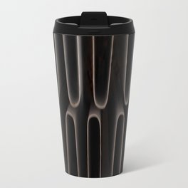 Industrial Waves | Metal Coils Abstract | Contemporary Art Travel Mug
