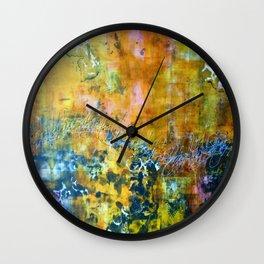 Abstract Seagulls Wall Clock
