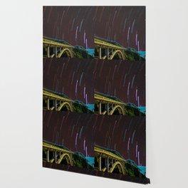 Bixby Creek Bridge Stars Wallpaper