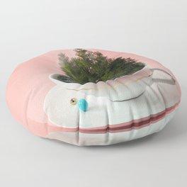 Hot cup of tree Floor Pillow