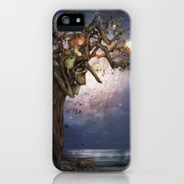 On the river bank iPhone Case