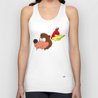 banjo Tank Tops featuring Banjo by Nate Galbraith
