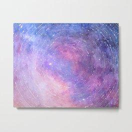 Starry Galaxy Sky Metal Print