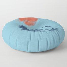 MONSTER WAVE Floor Pillow