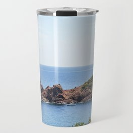 Seacoast of the Esterel Natural Park in French Riviera Travel Mug