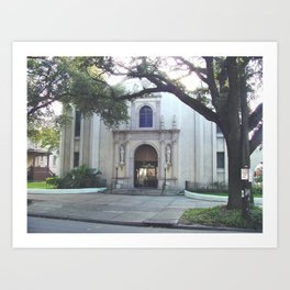 Corpus Christi Catholic Church - New Orleans LA Art Print