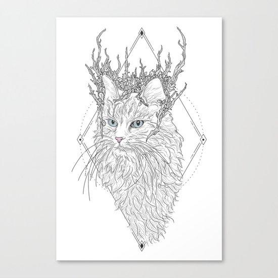 Thranduil Cat Canvas Print
