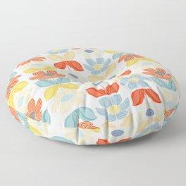 Malibu Floral Floor Pillow