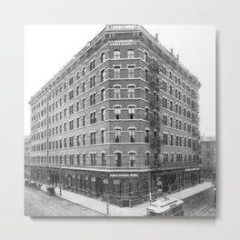 1899 Narragansett Hotel Providence, Rhode Island Metal Print